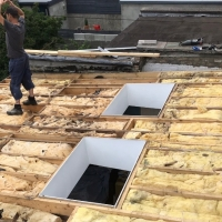Flat Roofing - Before